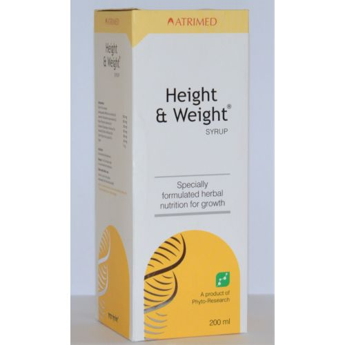 Height & weight Syrup