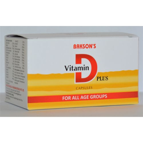 Vitamin D plus 10 capsule strips
