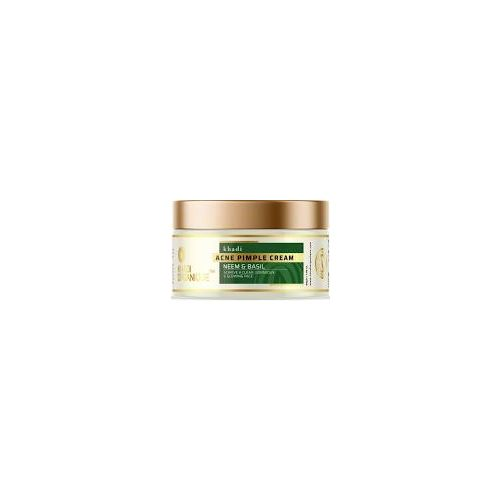Khadi Acne Pimple cream(Neem and basil)