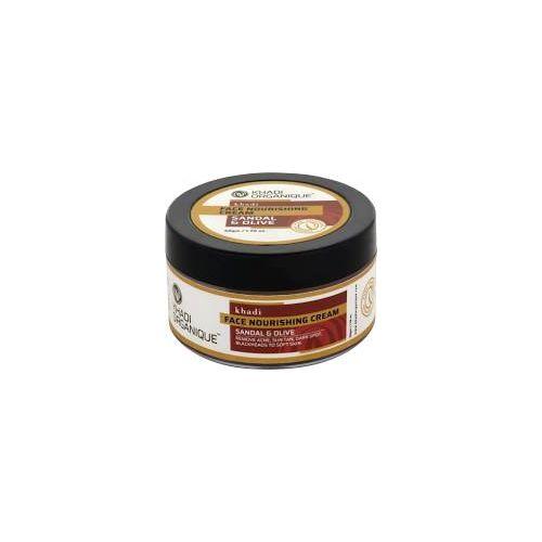 Khadi face Nourishing Cream(Sandal & Olive)