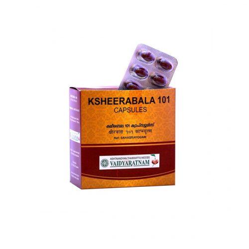 101 KSHEERABALA SOFT GEL CAPSULE